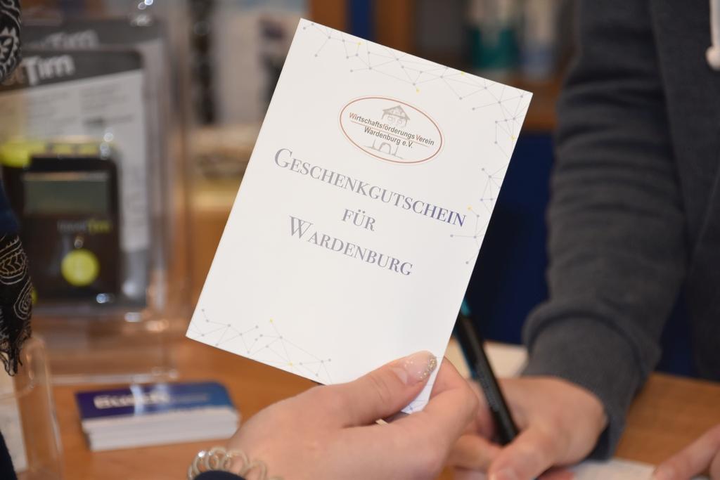 Gutschein Wardenburg Wirtschaftsförderung WFV Busch