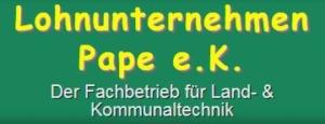 Lohnunternehmen Pape e.K. Logo