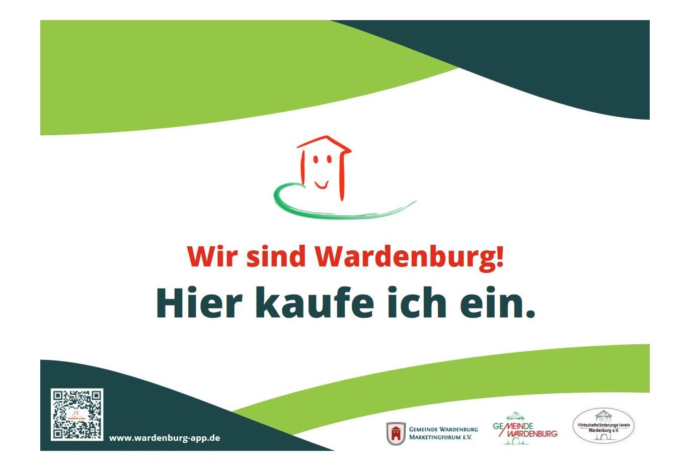 Wir sind Wardenburg - hier kaufe ich ein. Intiative zur Stärkung des Handels.