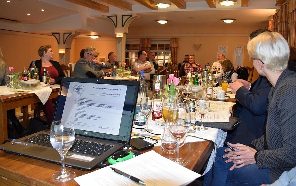 WFV Mitgliederversammlung 2019 im Wardenburger Hof. Foto: Uta Grundmann-Abonyi