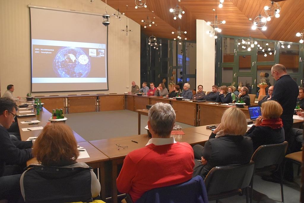 Vorstellung Wardenburg-App Rathaus