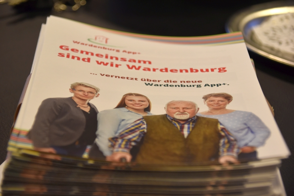 Wardenburg App+ Flyer